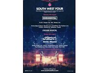 1 x SW4 Sunday ticket - BELOW FACE VALUE