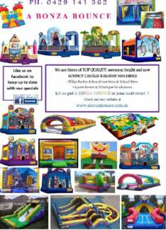 A Bonza Bounce = Perths Best Bouncy Castle Hire Kelmscott Armadale Area Preview