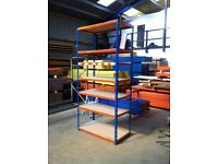 7 TIER SHOP GARAGE CONTAINER WORKSHOP LONGSPAN WAREHOUSE RACKING SHELVING BAY