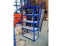5 TIER SHOP GARAGE CONTAINER WORKSHOP LONGSPAN WAREHOUSE RACKING SHELVING BAY