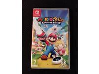 Mario and Rabbids Kingdom Battle for Nintendo Switch (Like New)