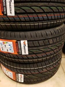 245/45R20 BRAND NEW SET ALL SEASON TIRES POWERTRAC 245/45/R20 WHEELS 245 45 20