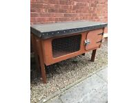 Handmade Rabbit Hutch