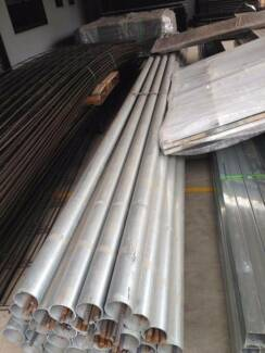 6m*60mm*2.0mm Galvanized Round Post $38
