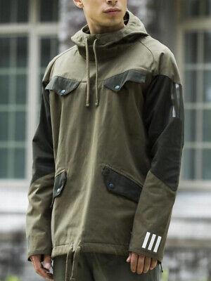 $200 Adidas x White Mountaineering Japan Jacket Men's LARGE Olive Green BQ4126
