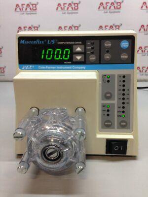 Cole Parmer Masterflex Ls 7550-50 Peristaltic Pump With 7013-20 Head