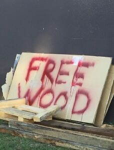 Free Wood- get anytime Northgate Brisbane North East Preview