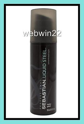 SEBASTIAN LIQUID STEEL Ultra Strong Hold Concentrated Styler Gel 150ml hair