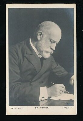 Religion Evangelist DR TORREY used 1907 RP PPC by Beagles
