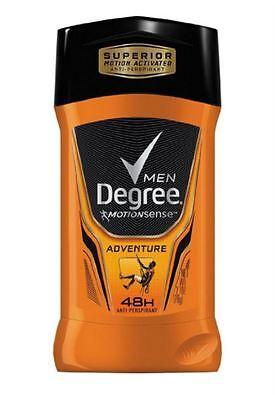 Degree Men Active Response Deodorant Invisible Stick Adventure 2 70 Oz  6 Pack