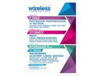 WIRELESS FESTIVAL 2x FRIDAY VIP TICKETS