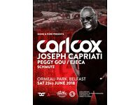 Carl cox ticket