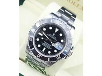 Rolex submariner black fave £250