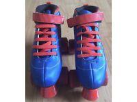 Girls SFR Vision Ladies Roller Boots Quad Skates size 4 for sale  Hirwaun, Rhondda Cynon Taf