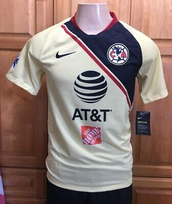 0655dbdb14a Nike Club America Official 2018-2019 Home Soccer Football Jersey size Large