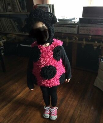 Ladybug Costume Princess Paradise 18/2T EUC 2 Pc Thick Halloween Toddler Girl (2t Princess Halloween Costumes)