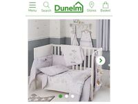 Disney Dumbo bedding nursery set with curtains
