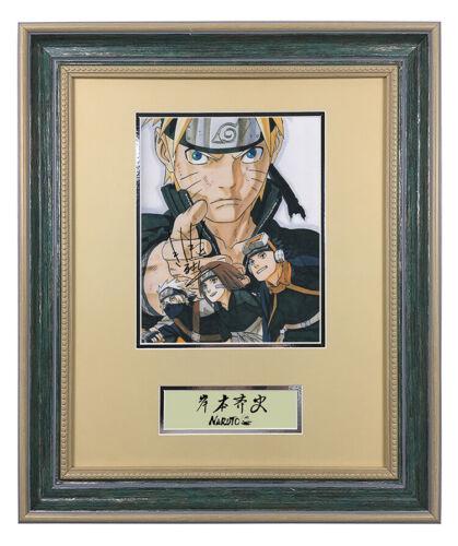 Kishimoto Masashi NARUTO hand signed autograph photo with coa