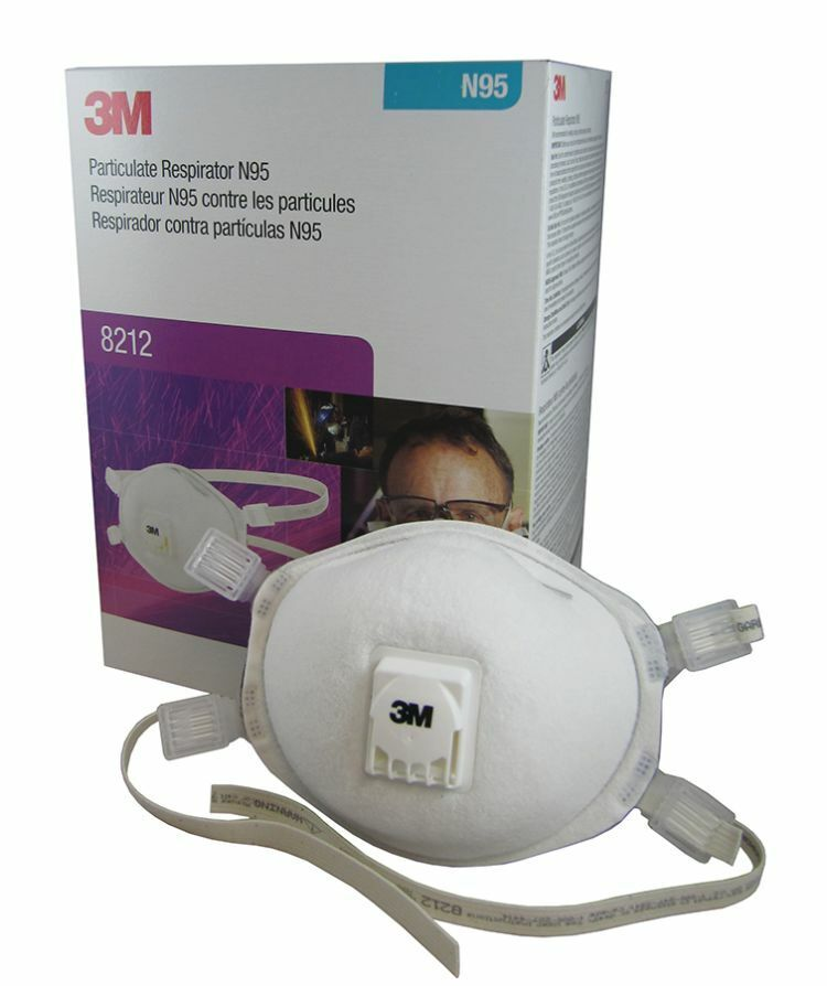 3M 8212 N95 Particulate Welding Respirator, 1 Box Of 10 Masks, EXP. 06/2023 Business & Industrial