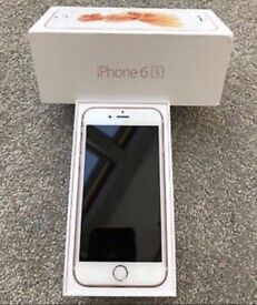 iPhone 6S unlocked(pay as you go receipt!)