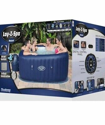 Bestway Hawaii Airjet 6 Person Hot Tub lay z spa