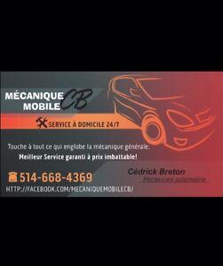 Mécanique CB ••• GARAGE OU À DOMICILE 514-668-4369