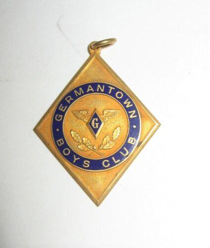 Germantown Boys Club Heavyweight Wrestling Medal