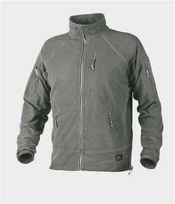 HELIKON ALPHA TACTICAL Jacket - Grid Fleece - Foliage Green FG s l xl xxl (Foliage Green Fleece)