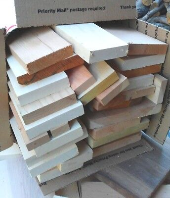 Hardwood Lumber Short Boards MAPLE Oak ALDER Cherry ASH Wood Crafts Carving CNC