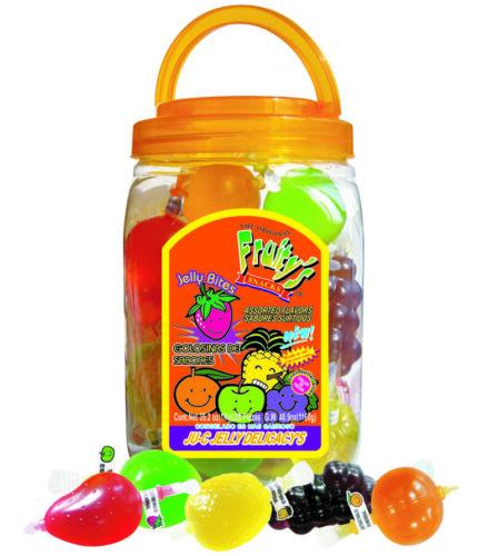 TikTok Candy‼️‼️Din Don Fruity's Ju-C Jelly Fruit Bites 25 PCS