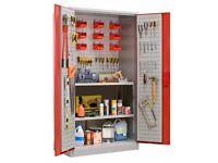 Workshop Cupboard Steel Storage 1850 mm