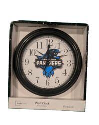 Mainstays Carolina Panthers Wall Clock 8.75 diameter( new in box)