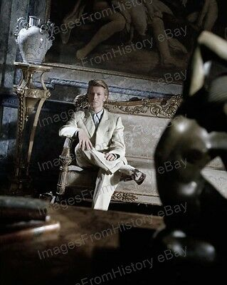 8x10 Print David Bowie Seated Portrait #DB75