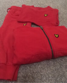 Kids lyle&scott tracksuit and tshirt