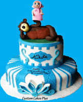 Custom Cakes, Cupcakes, Push pop Cupcakes,Characters & toppers