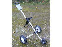 Dunlop 2 wheel push/pull golf trolley