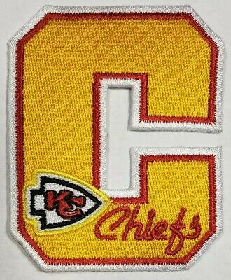 Kansas City Chiefs NFL~Letterman~Iron On Patch~Free Shipping From the U.S.A.~ ()