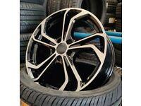 "*TCR* x4 17"" Golf Reifnitz Style Alloys Vw Golf Caddy Audi Seat 5x112 7.5J Bmf"
