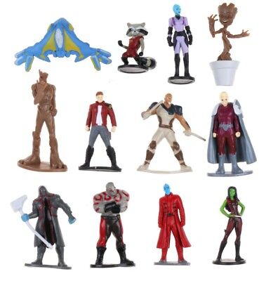 Guardians of the Galaxy Playset 12 Figure Cake Topper * USA SELLER* Toy Set (Usa Toy)
