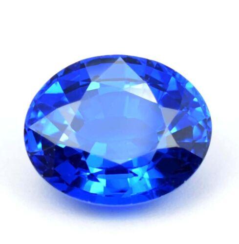 AAA 10.20 Ct Natural Rare Tanzania Flawless Tanzanite Loose Oval Gemstone Cut