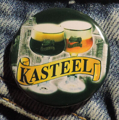Pin Button Badge Ø38mm  Kasteel  ( 9 )