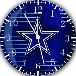 Dallas Cowboys Frameless Borderless Wall Clock Nice For Gifts or Decor Z16