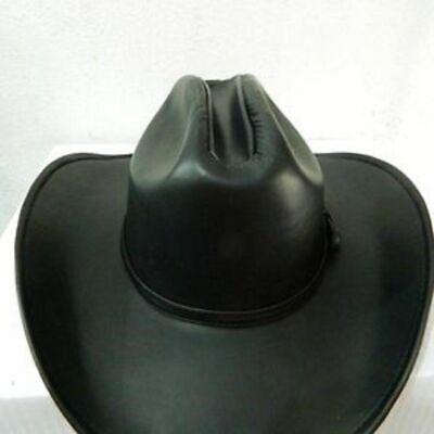 Hüte, Cowboy-Echtlederhut in allen verfügbaren Größen