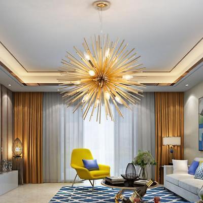 Modern Gold Ceiling Pendant Sputnik Light Chandelier Lamp Lighting Fixture Decor ()