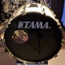 Bass Drum, 70's, Pearl with soft case. Coolum Beach Noosa Area Preview