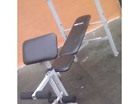 Weight bench, weights 75+kg NEED GONE TO MAKE SPACE!! BARGAIN!!