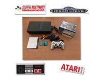 Ps2 console plus over 6000 Retro games Nintendo Sega SNES NES Atari Megadrive