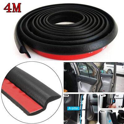 """4M 160"""" Z-shape Window Door Rubber Seal Weather Strip Hollow Car Weatherstrip"""