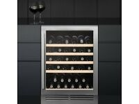 BRAND NEW CAPLE WINE CABINET MODEL Wi6121. ELECTRONIC TEMPERATURE CONTROL AND LED DISPLAY.