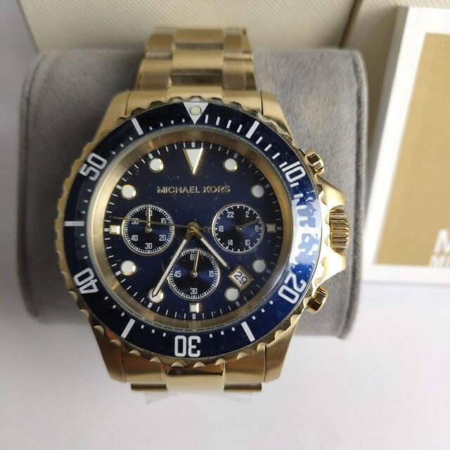499a4a2ea145 Michael Kors Everest Gold-Tone Chronograph Mens Watch MK8267 ...